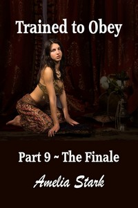 cover design for the book entitled Trained to Obey: Part Nine - The Finale