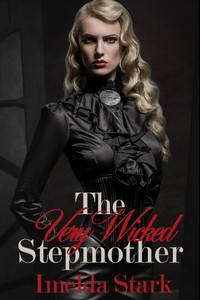 cover design for the book entitled The Very Wicked Stepmother