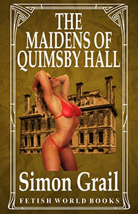 cover design for the book entitled The Maidens of Quimsby Hall