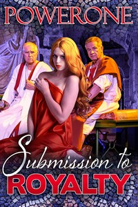 cover design for the book entitled Submission to Royalty