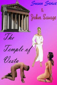 cover design for the book entitled The Temple Of Vesta