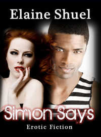 cover design for the book entitled Simon Says