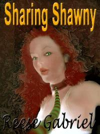 cover design for the book entitled Sharing Shawny