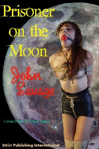 cover design for the book entitled Prisoner On The Moon