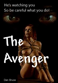 cover design for the book entitled The Avenger