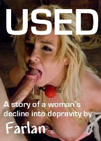 cover design for the book entitled Used