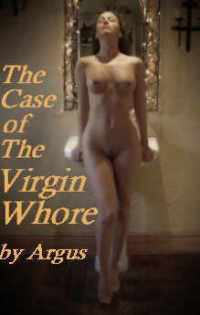 cover design for the book entitled The Case Of The Virgin Whore