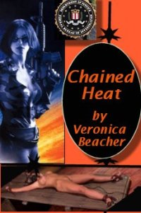 cover design for the book entitled Chained Heat
