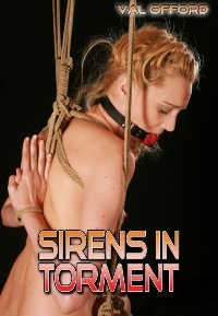 cover design for the book entitled Sirens In Torment