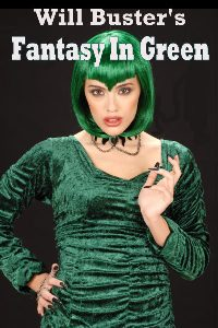 cover design for the book entitled Fantasy In Green