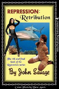 cover design for the book entitled Repression 4: Retribution