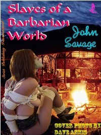 cover design for the book entitled Slaves Of A Barbarian World