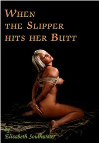 cover design for the book entitled When The Slipper Hits Her Butt