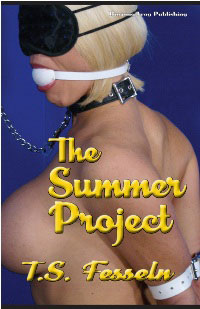 cover design for the book entitled The Summer Project