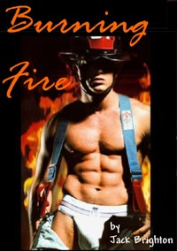 cover design for the book entitled Burning Fire