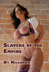 cover design for the book entitled Slavers Of The Empire