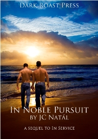 cover design for the book entitled In Noble Pursuit