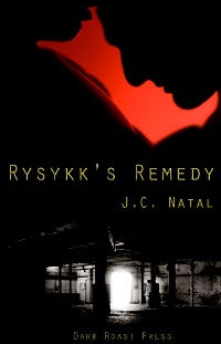 cover design for the book entitled Rysykk
