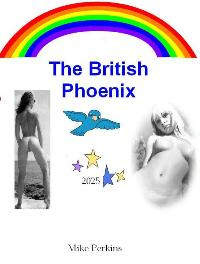 cover design for the book entitled The British Phoenix