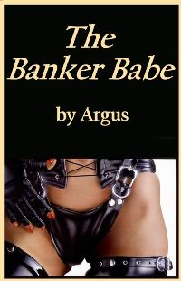 cover design for the book entitled The Banker Babe
