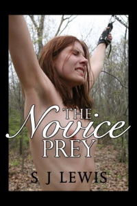 cover design for the book entitled The Novice Prey