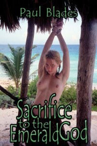 cover design for the book entitled Sacrifice To The Emerald God