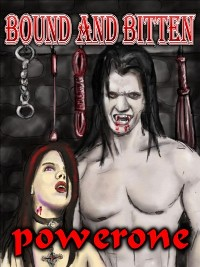 cover design for the book entitled Bound And Bitten