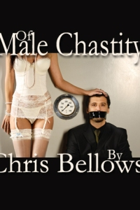 cover design for the book entitled Of Male Chastity