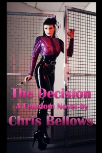 cover design for the book entitled The Decision