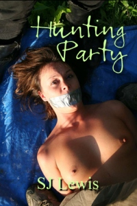 cover design for the book entitled Hunting Party