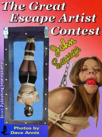 cover design for the book entitled The Great Escape Artist Contest