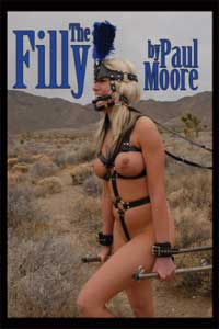cover design for the book entitled The Filly