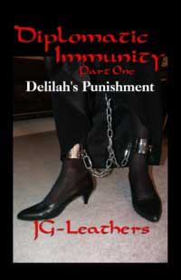 cover design for the book entitled Diplomatic Immunity, Part One