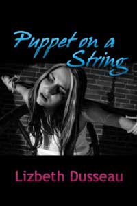 cover design for the book entitled Puppet On A String