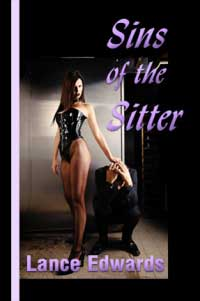 cover design for the book entitled Sins Of The Sitter
