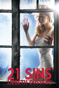 cover design for the book entitled 21 Sins