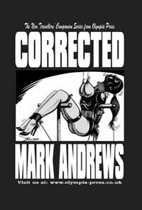 cover design for the book entitled Corrected