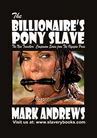 cover design for the book entitled The Billionaire