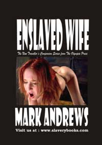 cover design for the book entitled Enslaved Wife