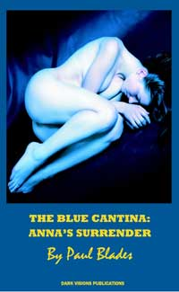 cover design for the book entitled The Blue Cantina: Anna