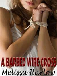 cover design for the book entitled A Barbed Wire Cross