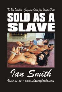 cover design for the book entitled Sold As A Slave