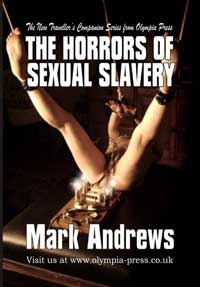 cover design for the book entitled The Horrors Of Sexual Slavery