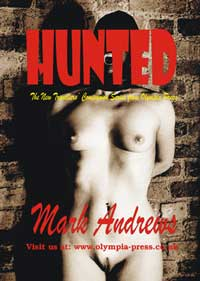 cover design for the book entitled Hunted