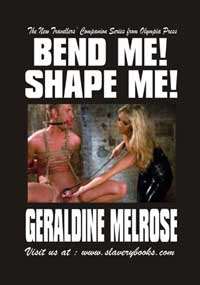 cover design for the book entitled Bend Me Shape Me