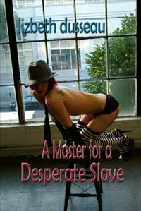 cover design for the book entitled A Master For A Desperate Slave