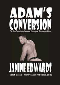 cover design for the book entitled Adam
