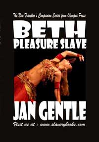 cover design for the book entitled Beth Pleasure Slave