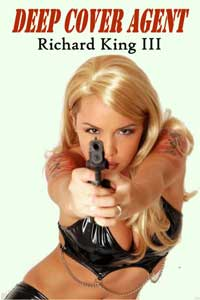 cover design for the book entitled Deep Cover Agent
