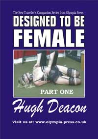 cover design for the book entitled Designed To Be Female - Book One